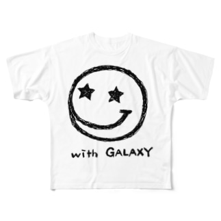 with GALAXY Full graphic T-shirts