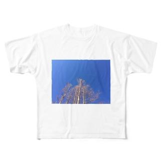 晴れた日のメタセコイア Full graphic T-shirts