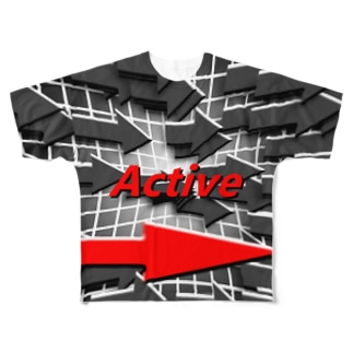 Active⇒ Full graphic T-shirts
