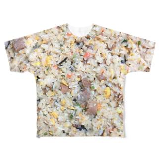 フルプリントチャーハン Full graphic T-shirts
