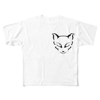 ネネココ Full graphic T-shirts