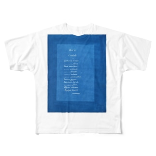 PHOTOGRAPHS OF BRITISH ALGAE Full graphic T-shirts