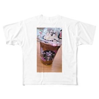 Starbucks♡ Full graphic T-shirts