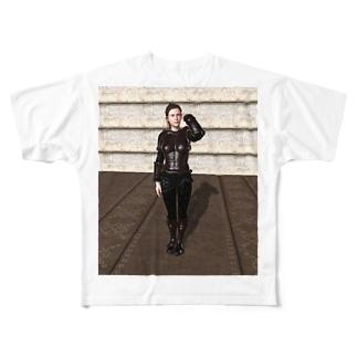 イメチェン Full graphic T-shirts
