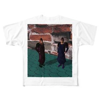 魔法学園 Full graphic T-shirts