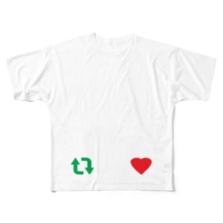 らぶりつ Full graphic T-shirts