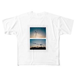 オオニシ トモヒロのフォトグッズ Full graphic T-shirts