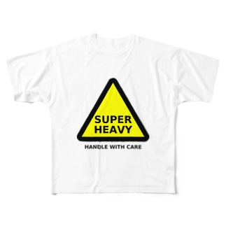 SUPER HEAVY Full graphic T-shirts