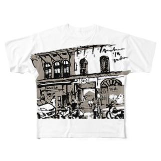 Malaysia-MalaccaTシャツ Full graphic T-shirts