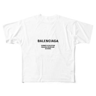 Valencia Full graphic T-shirts