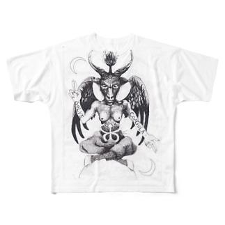 Baphomet Full graphic T-shirts