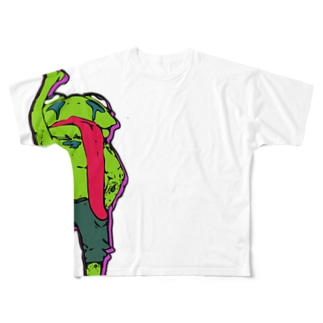 Pop-flog Full graphic T-shirts