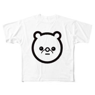 クマ Full graphic T-shirts
