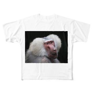 マントヒヒ Full graphic T-shirts