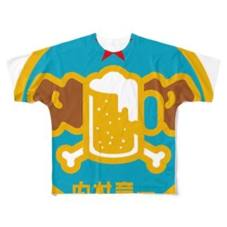 パ紋No.3346 内村  Full graphic T-shirts