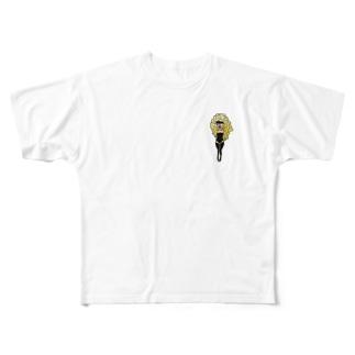 金髪ダンサー Full graphic T-shirts