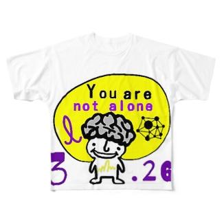 【数量限定特価】パープルデー記念特価 Full graphic T-shirts