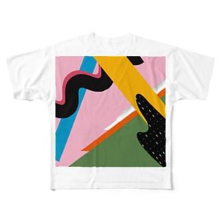 HEYMEN構成くん3世 Full graphic T-shirts