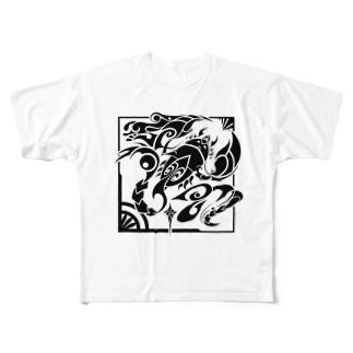 にしのひつじかいの天蠍宮 Full graphic T-shirts