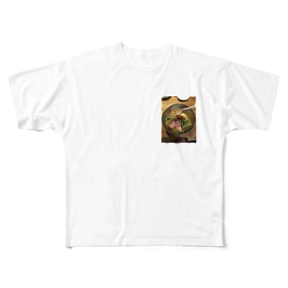 Niigata cold noodles in Japan  Full graphic T-shirts