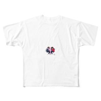 かっぽー Full graphic T-shirts