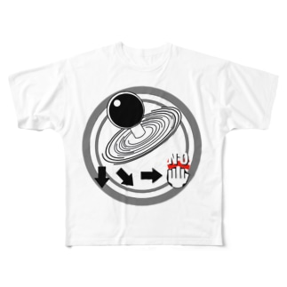 Fighting command Full graphic T-shirts
