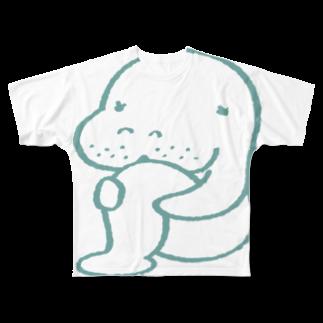 OSUWARe:のマナティさん Full graphic T-shirts