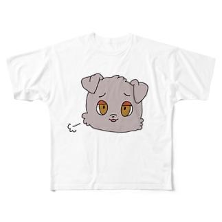 ワンチャンチェリオくん Full graphic T-shirts