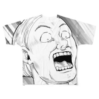 衝撃 Full graphic T-shirts
