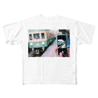 過ぎ去るは青春 Full graphic T-shirts