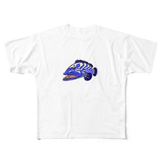 ファンキー クエ Full graphic T-shirts