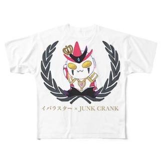 イバラスター×JUNKCRANK Full graphic T-shirts