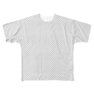 透明 Full graphic T-shirts