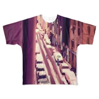 Paris Jacques Bonsergent Full graphic T-shirts