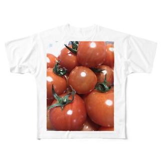 トマトン Full graphic T-shirts