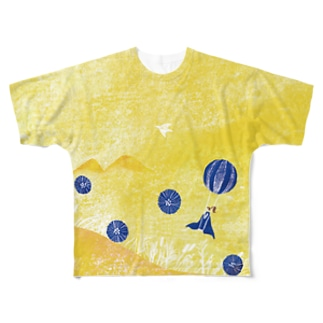 春のおでかけ Full graphic T-shirts
