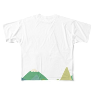 Mountains Full graphic T-shirts