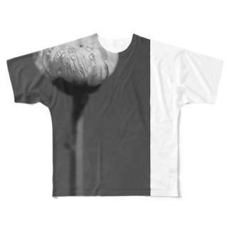 花 Full graphic T-shirts