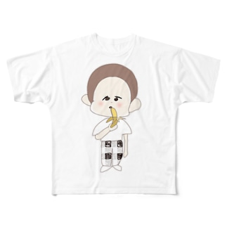 あほざる Full graphic T-shirts