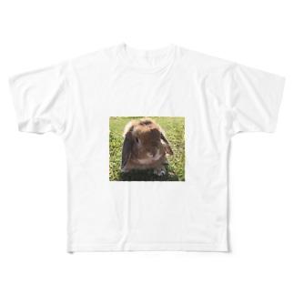 脱走大好きバロン君 Full graphic T-shirts