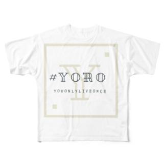 #YORO  Full graphic T-shirts