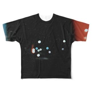 点滅する Full graphic T-shirts