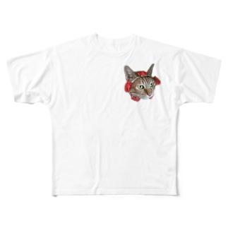 はなまる Full graphic T-shirts
