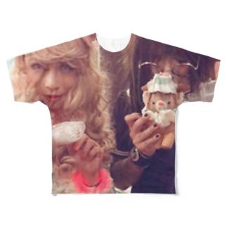 フルーチェ Tシャツ Full graphic T-shirts