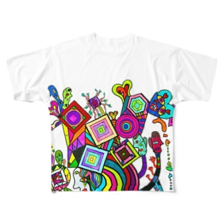 atdrawing Full graphic T-shirts