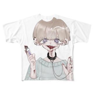 いつも元気な男の子 Full graphic T-shirts