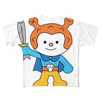 ホヤぼーや No.1-1 Full graphic T-shirts