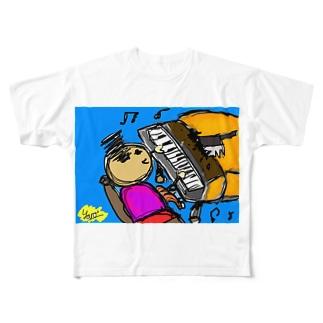 DIE Piaaanooo Full graphic T-shirts