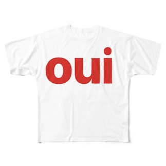OUI Full graphic T-shirts
