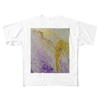 NYの女神 Full graphic T-shirts